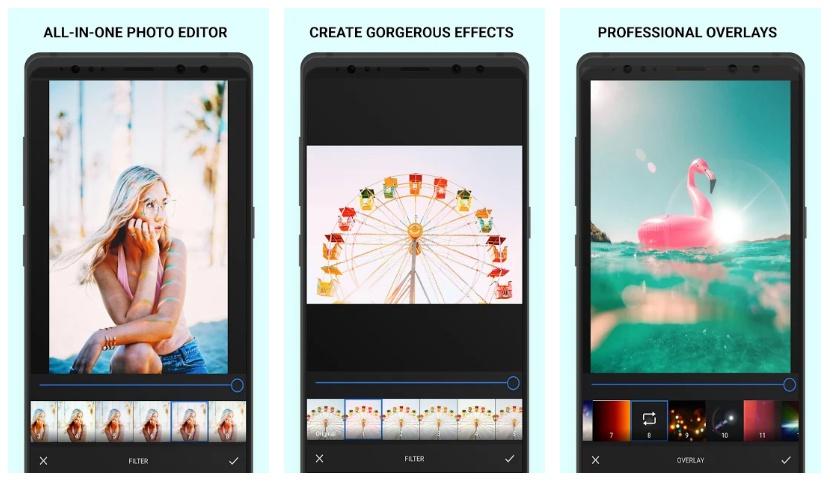 filtre d'été analogique d'application