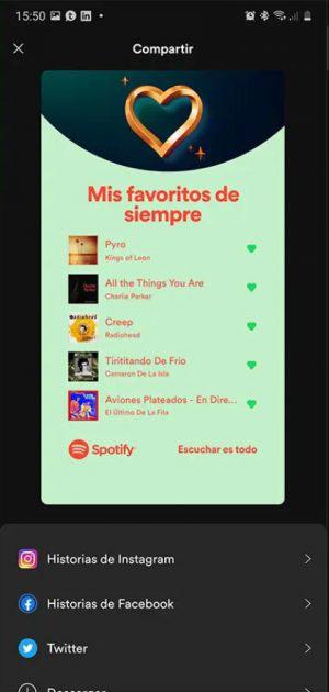 chansons préférées spotify