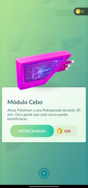 module d'appât pokémon go