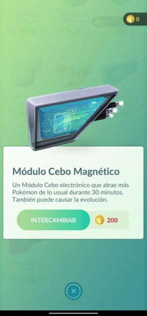module d'appât magnétique pokémon go