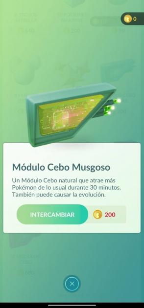 module d'appât pokémon go moussu