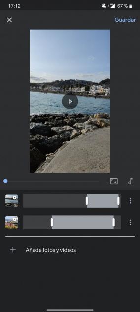 rejoindre des vidéos éditeur de photos google