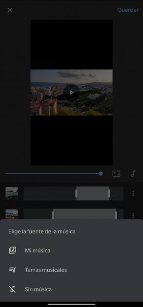 rejoindre des vidéos google photos editor music